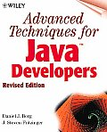 Advanced Techniques for Java Developers with CDROM