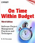 On Time Within Budget 3RD Edition