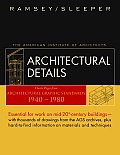 Architectural Details Classic Pages from Architectural Graphic Standards 1940 1980