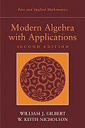 Modern Algebra With Applications 2ND Edition Cover