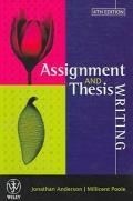 Assignment and Thesis Writing
