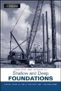 Analysis & Design of Shallow & Deep Foundations