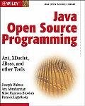 Java Open Source Programming: With XDoclet, JUnit, Webwork, Hibernate (Java Open Source Library)