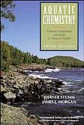 Aquatic Chemistry Chemical Equilibria & Rates in Natural Waters 3rd Edition