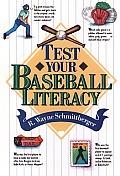 Test Your Baseball Literacy