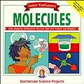 Janice VanCleave's Molecules (Spectacular Science Projects) Cover