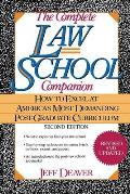 The Complete Law School Companion