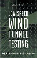 Low Speed Wind Tunnel Testing 3rd Edition