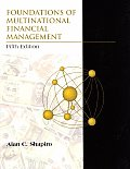 Foundations Of Multinational Financial M