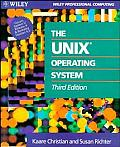 Unix Operating System 3RD Edition System 5 Rel 4