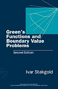 Green's Functions and Boundary Value Problems (2ND 98 - Old Edition) Cover