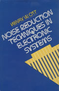 Noise Reduction Techniques In Electr 1st Edition