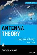 Antenna Theory Book 3RD Edition