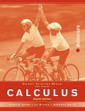 Student Solutions Manual to Accompany Calculus: Multivariable, 8th Edition, Student Solutions Manual