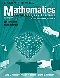 Student Activities Manual to Accompany Mathematics for Elementary Teachers A Contemporary Approach 7th Edition