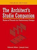 Architects Studio Companion Rules of Thumb for Preliminary Design