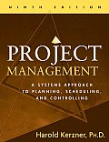 Project Management 9TH Edition a Systems Approac
