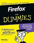 Firefox for Dummies (For Dummies)