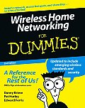 Wireless Home Networking For Dummies 2nd Edition