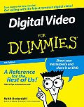Digital Video for Dummies 4TH Edition Cover
