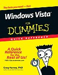 Windows Vista for Dummies Quick Reference
