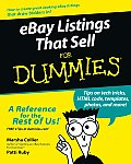 Ebaylistings That Sell for Dummies (For Dummies)