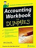 Accounting Workbook for Dummies (For Dummies) Cover