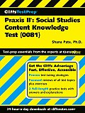PRAXIS II Social Studies Content Knowledge Test 0081