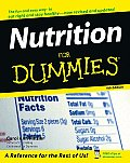 Nutrition for Dummies 4TH Edition