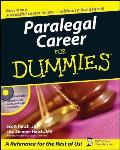 Paralegal Career for Dummies with CDROM (For Dummies)