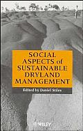 Social Aspects of Sustainable Dryland Management