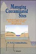 Managing Contaminated Sites: Problem Diagnosis and Development of Site Restoration