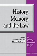 History, Memory, and the Law