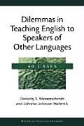 Dilemmas in Teaching English to Speakers of Other Languages: 40 Cases (Michigan Teacher Training) Cover
