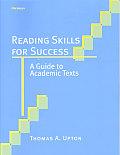 Reading Skills for Success