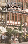 German How To Speak & Write It