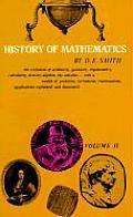 History Of Mathematics Volume 2 Special Topics of Elementary Mathematics