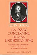Essay Concerning Human Understandin Volume 2
