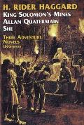 She, King Solomon's Mines, Allan Quatermain Cover