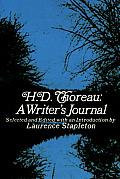 H D Thoreau A Writers Journal