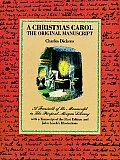 Christmas Carol The Original Manuscript