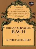Keyboard Music The Bach Gesellschaft E