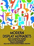 Modern Display Alphabets Cover