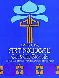 Art Nouveau Cut & Use Stencils