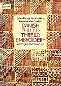 Danish Pulled Thread Embroidery (Dover Needlework) Cover