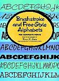 Brushstroke & Free Style Alphabets 100