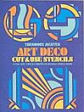 Art Deco Cut &amp; Use Stencils #181: Art Deco Cut &amp; Use Stencils Cover