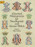 Charted Monograms for Needlepoint and Cross-Stitch (Dover Needlework) Cover