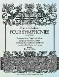Four Symphonies in Full Score (78 Edition)