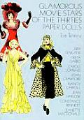 Glamorous Movie Stars of the Thirties Paper Dolls